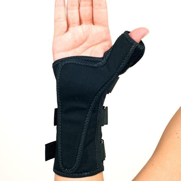 Tala de tecido para punho e polegar